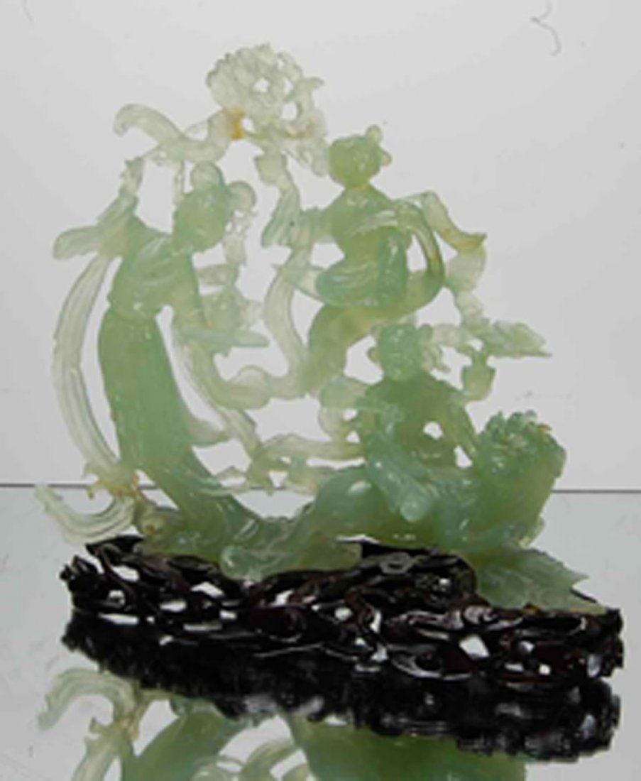 Oriental Jade figure