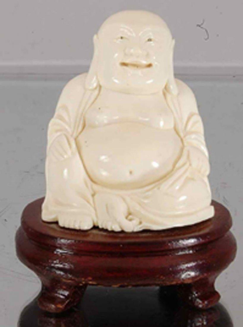 Ivory Buddha statues