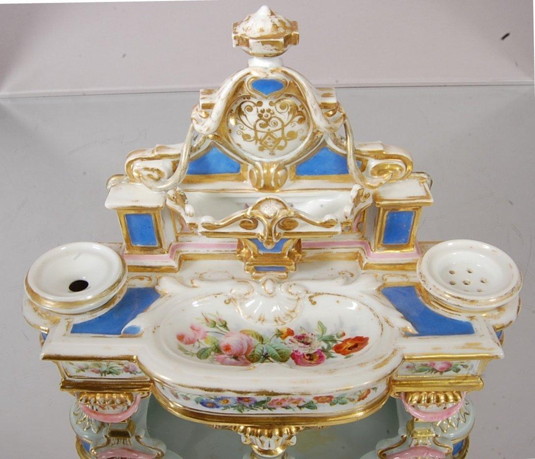 Old Paris Louis XVI style Porcelain hand decorated Ladi