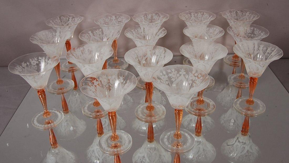 Steuben Wine Glasses