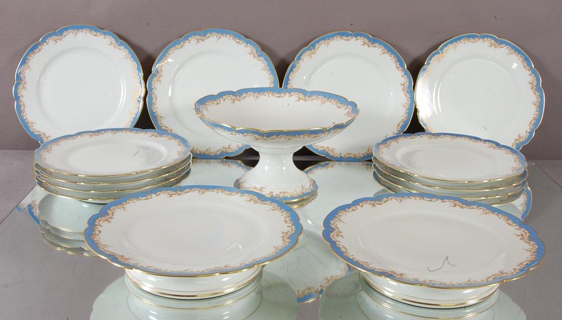 Alfred Hache & co. Limoges 15 pc. Dessert Set