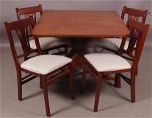 Duncan Phyfe Style Mahogany dining room set