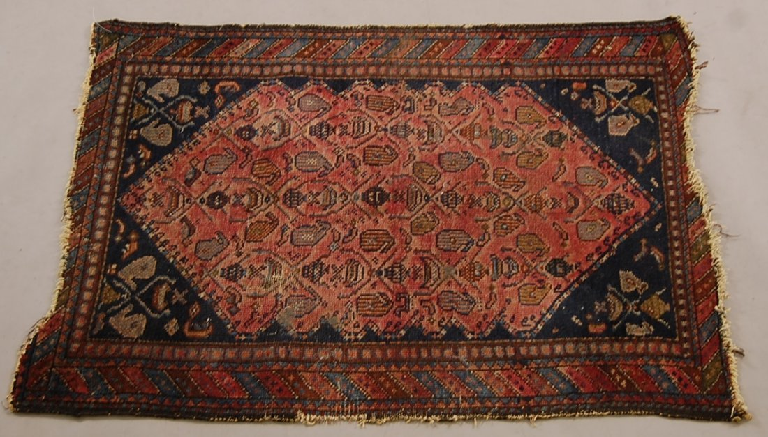 Antique Persian Prayer Rug