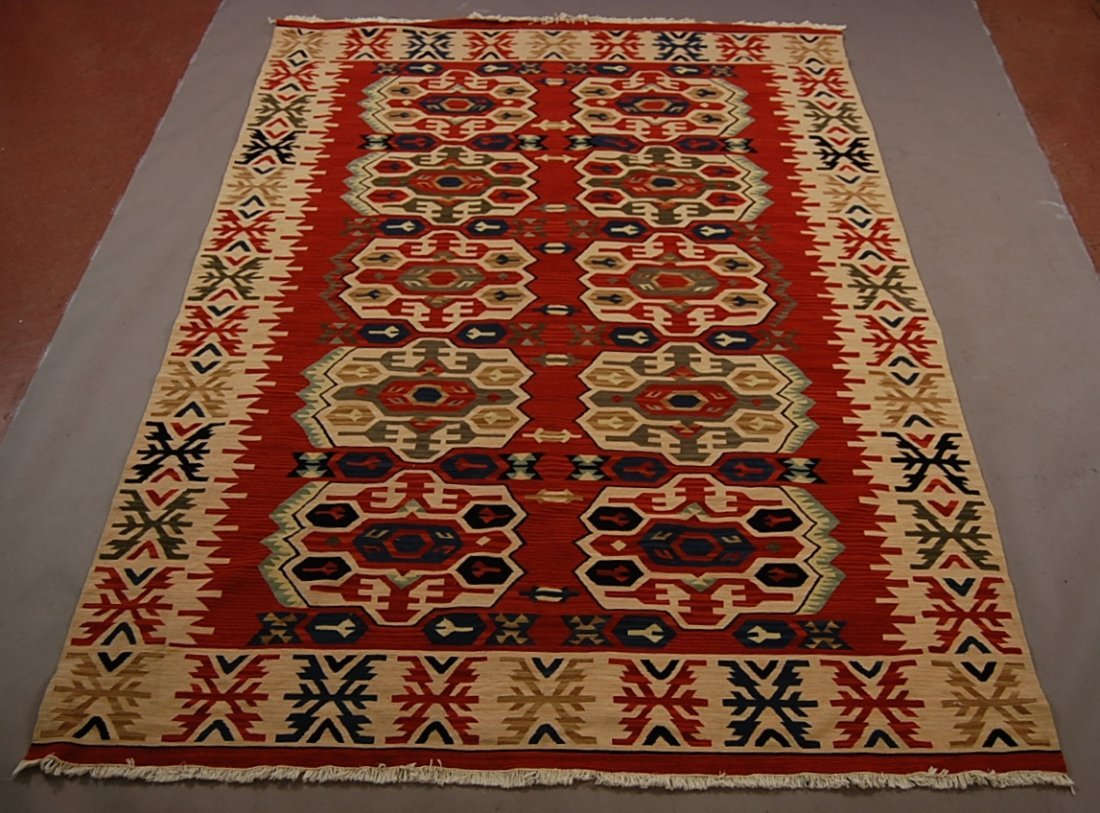 Persian Kilman style wool carpet