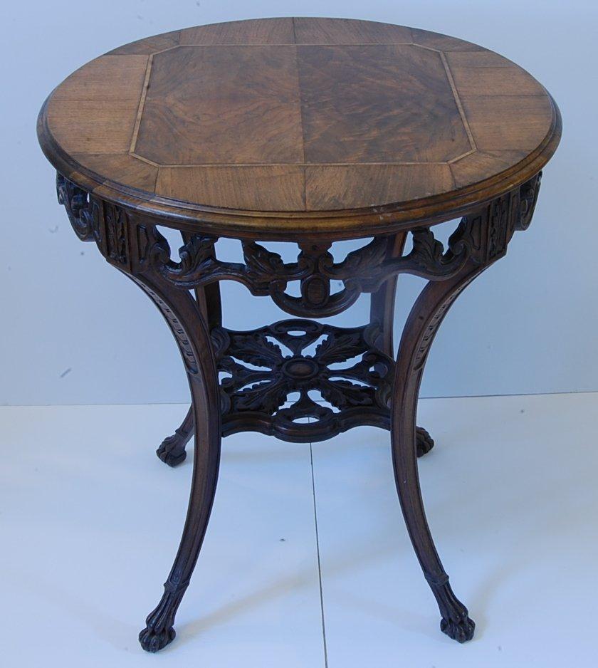 Antique Walnut Round table