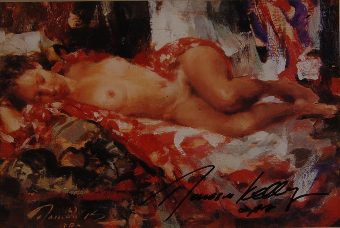 Ramon Kelly Nude Print