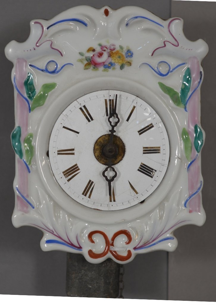 Early German Mini Wag Tail Clock