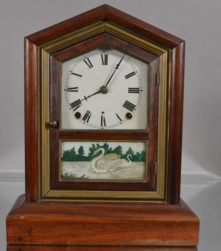 Early Seth Thomas Shelf clock in Rosewood case.