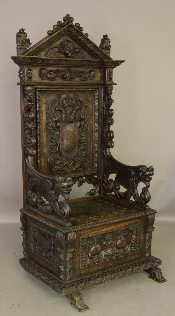 Italian Renaissance Entry chair