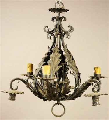 French Provincial Style Hanging Light Fixture