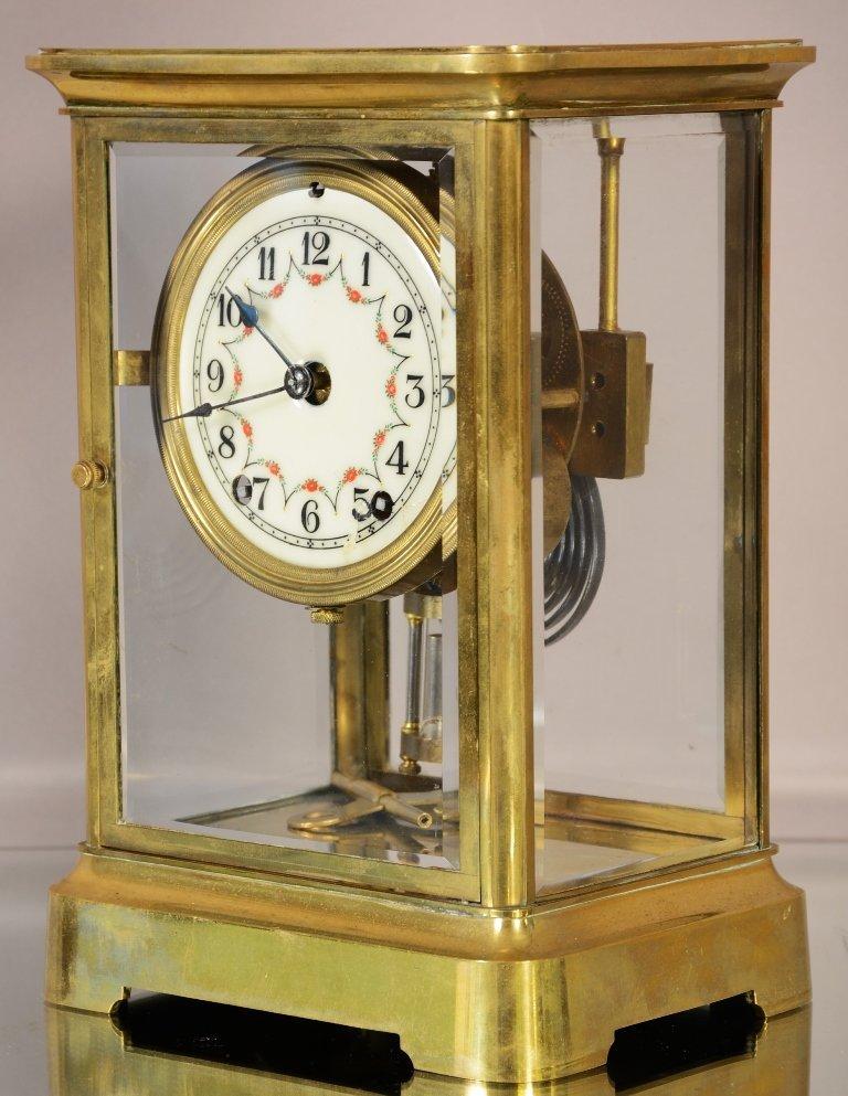 Seth Thomas Crystal Regulator Mantel Clock - 2