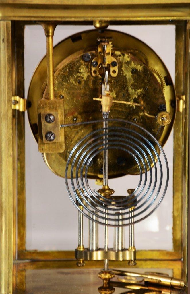 Seth Thomas Crystal Regulator Mantel Clock - 3