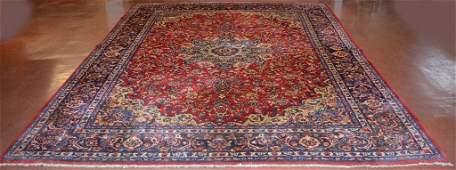 Semi-Antique Persian Style Wool Carpet