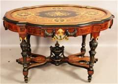 American Renaissance Victorian Parlor Table