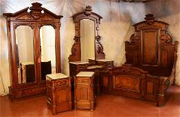 American Renaissance Queen Victoria Bedroom Set