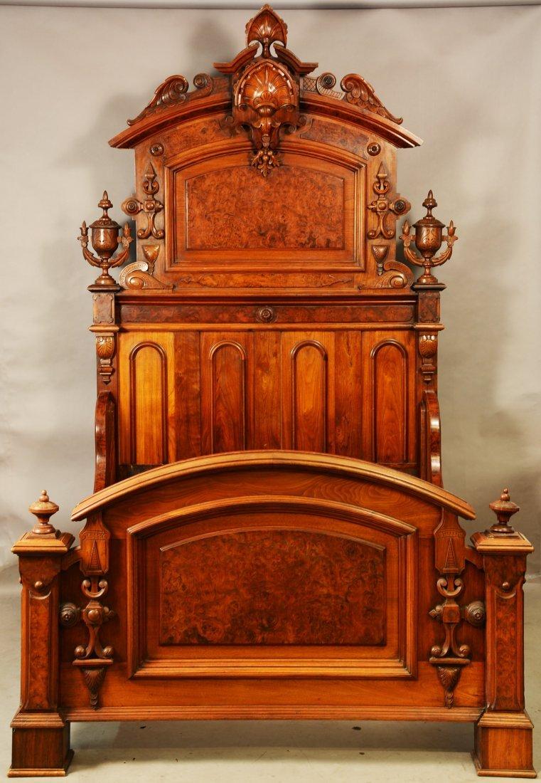 Great American Renaissance Revival Bed Set