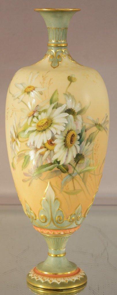 Royal Worcester pedestal vase