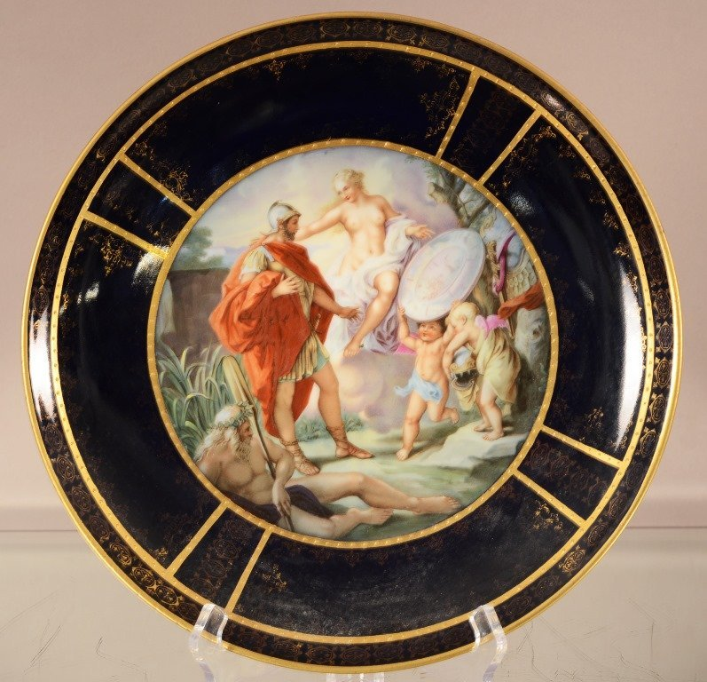 "Royal Vienna 12"" plate"