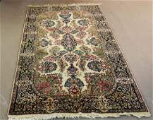 Persian style hand tied rug