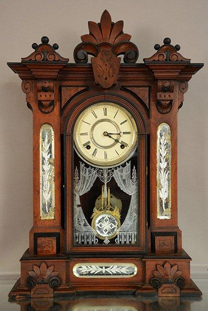 "Gilbert ""Amphion"" Model Mantel Clock"