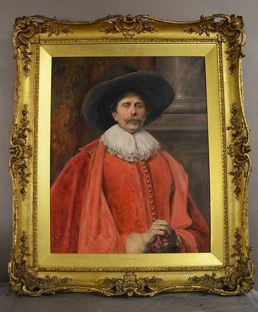 Alex De Andreis Oil on Canvas