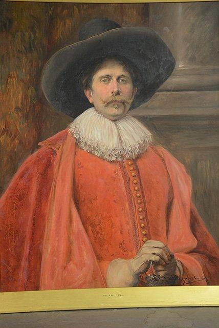 Alex De Andreis Oil on Canvas - 2