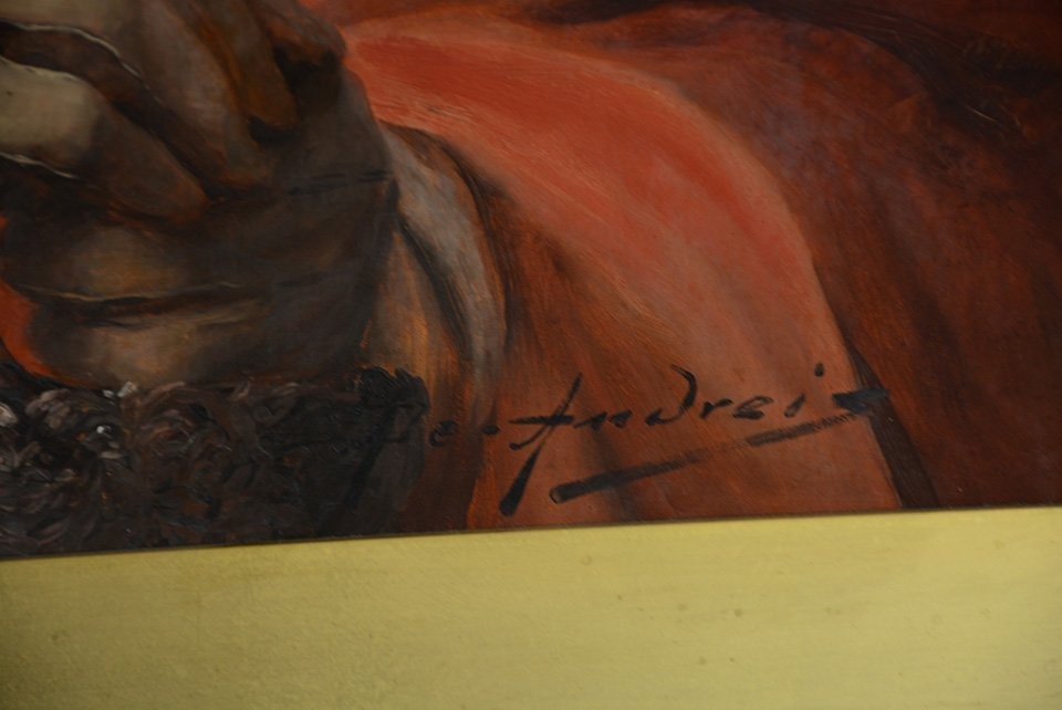 Alex De Andreis Oil on Canvas - 3