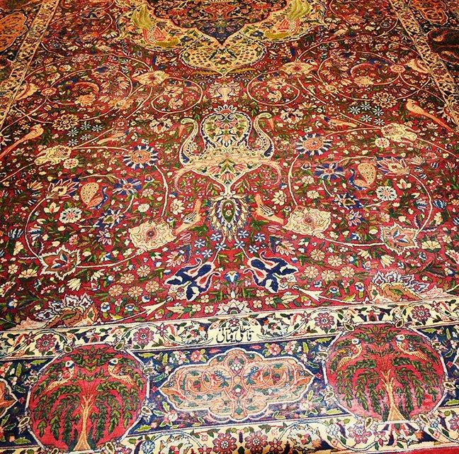 Antique Persian Kerman Lavar - 2