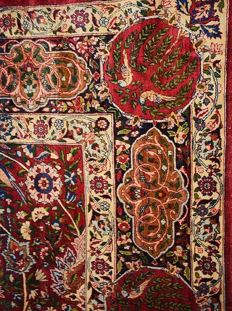 Antique Persian Kerman Lavar - 3
