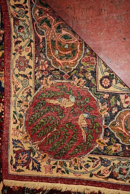 Antique Persian Kerman Lavar - 4