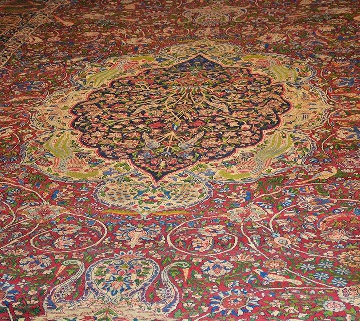 Antique Persian Kerman Lavar - 5