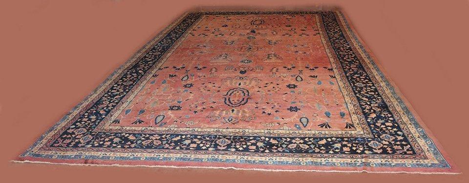 Antique Sarouk Style Persian Carpet