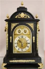 English Eight-Bell Bracket Clock