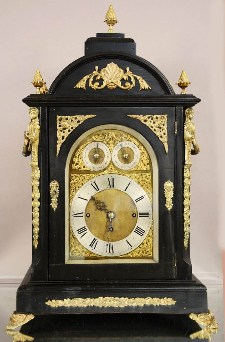 English Eight-Bell Bracket Clock