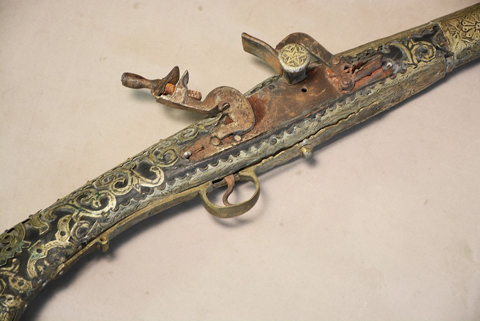 Antique Moroccan Musket - 3