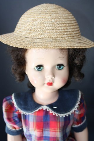 "1: Effanbee  Vintage 19"" Honey Walker Doll"