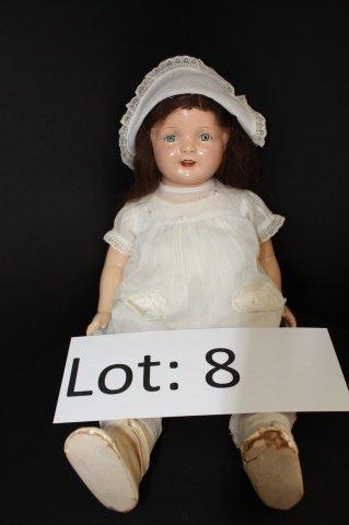 "8: 21"" Celluloid Doll"