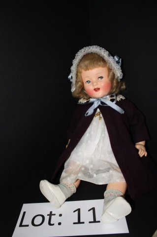"""11: Raynal Rhodoïd Doll 21"""""""