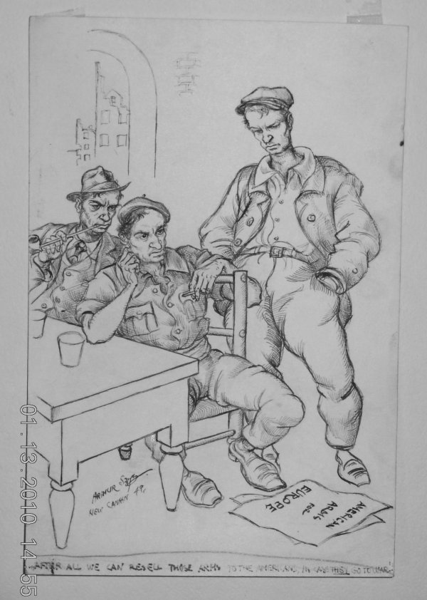 288: Arthur Szyk (1894-1951) Original  Artwork Editoria