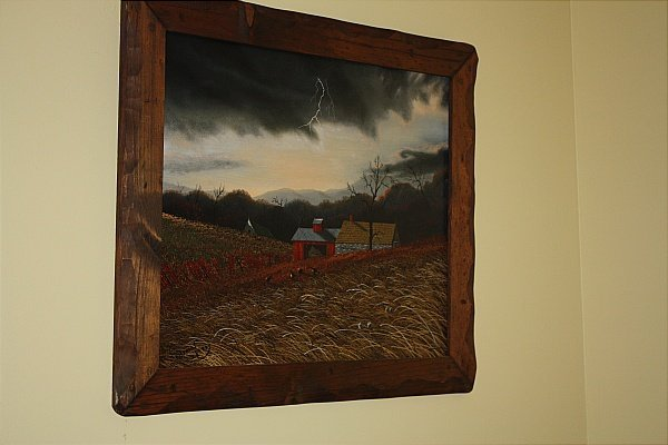 36: Thomas Kerry   (1929- 1983) Barn in a Storm