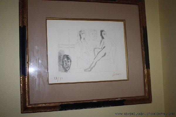1: Pablo Picasso (1881-1973) Rare Etching