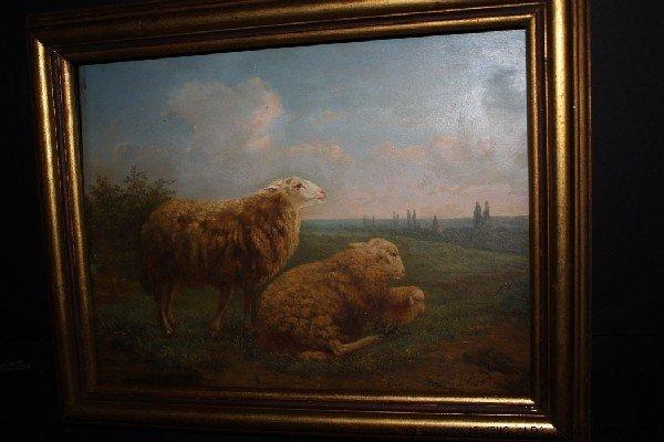 7: Eugene Verboeckhoven (Belgian, 1798-1881) Sheep