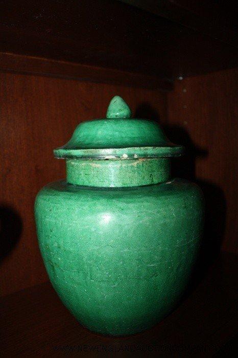 12: Ming Dynasty Matte Glazed Jar