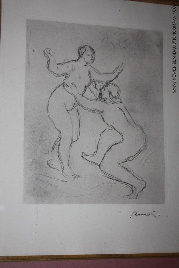 15: Pierre Auguste Renoir (1841 - 1919) Etching