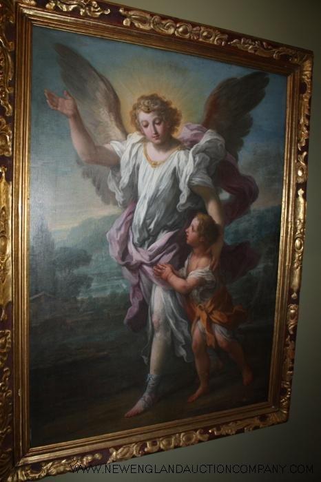 """17: Ignaz Stern (1680 - 1748) """"Angelo Custode"""""""