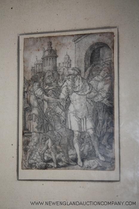 27: Aldgrever, Heinrich (1502-1561) Engraving c. 1555