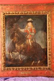8: 18th c.Prince Baltasar Carlos on Horseback