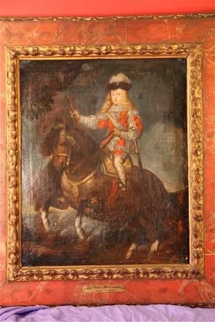 18th c.Prince Baltasar Carlos on Horseback