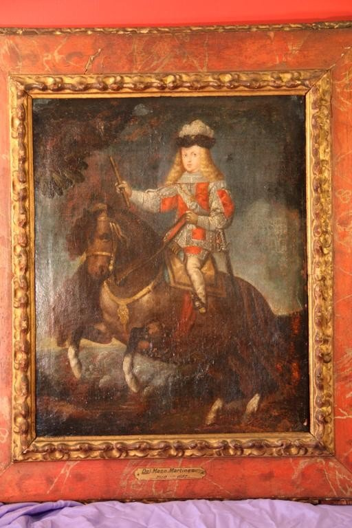 8: 18th c.Prince Baltasar Carlos on Horseback