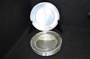 Sterling Silver Bon Bon Plates (6)